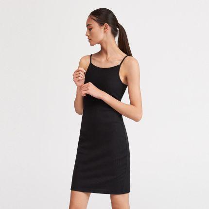 b0c4896511 Mohito - Koronkowa sukienka ze stójką - Bordowy - Ceny i opinie ...