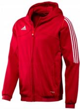 bluza adidas rozpinana czerwona