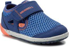 ead13a8ae7 Półbuty MERRELL - M-Bare Steps H20 ML260875 Blu Org
