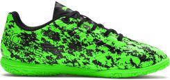 Buty halowe Puma One 19.4 It Jr 105504 04 zielone czarny