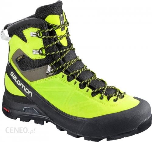 Salomon X Alp Mtn Gtx Black Lime Green
