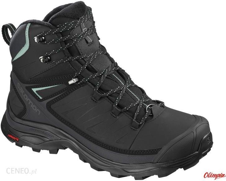 Buty trekkingowe Salomon X Ultra Mid Winter Cs Wp W Bk Phant Ceny i opinie Ceneo.pl