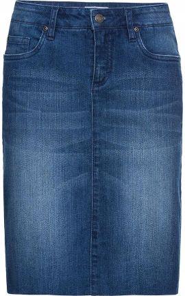 0178f889d3 Spódnica dżinsowa ze str niebieski 44 XXL 953123 Allegro