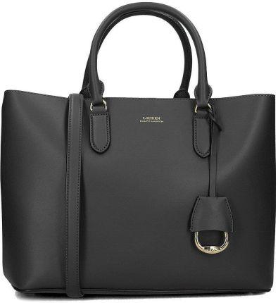 3cd3002ef Ralph Lauren średnia torebka skórzana czarna - Ceny i opinie - Ceneo.pl