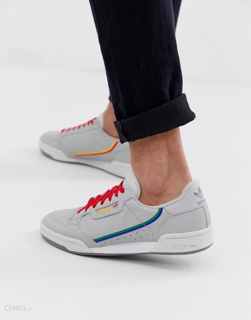 adidas Originals Continental 80 Trainers Grey CG7128 Grey