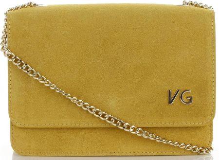 730bf3e71e421 Firmowe Torebki Skórzane Elegancka Listonoszka na łańcuszku na każdą okazje  marki Vittoria Gotti Made in Italy ...