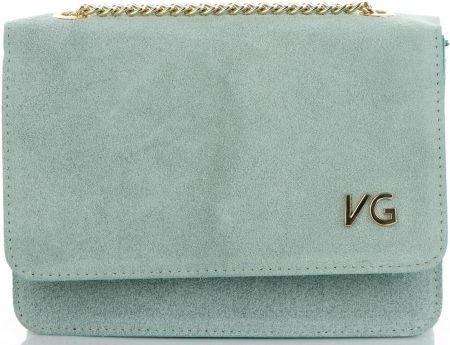 4bb664a8a667a Firmowe Torebki Skórzane Eleganckie Listonoszki Renomowanej marki Vittoria  Gotti Made in Italy Miętowe (kolory)