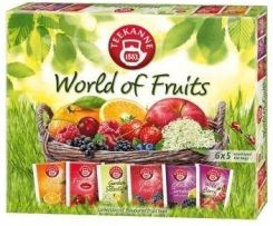 Teekanne Zestaw Herbat Owocowych World Of Fruits Collection 6X5Szt