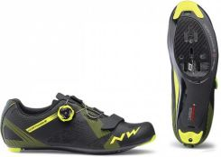 Northwave Storm Carbon Black Yellow Fluo