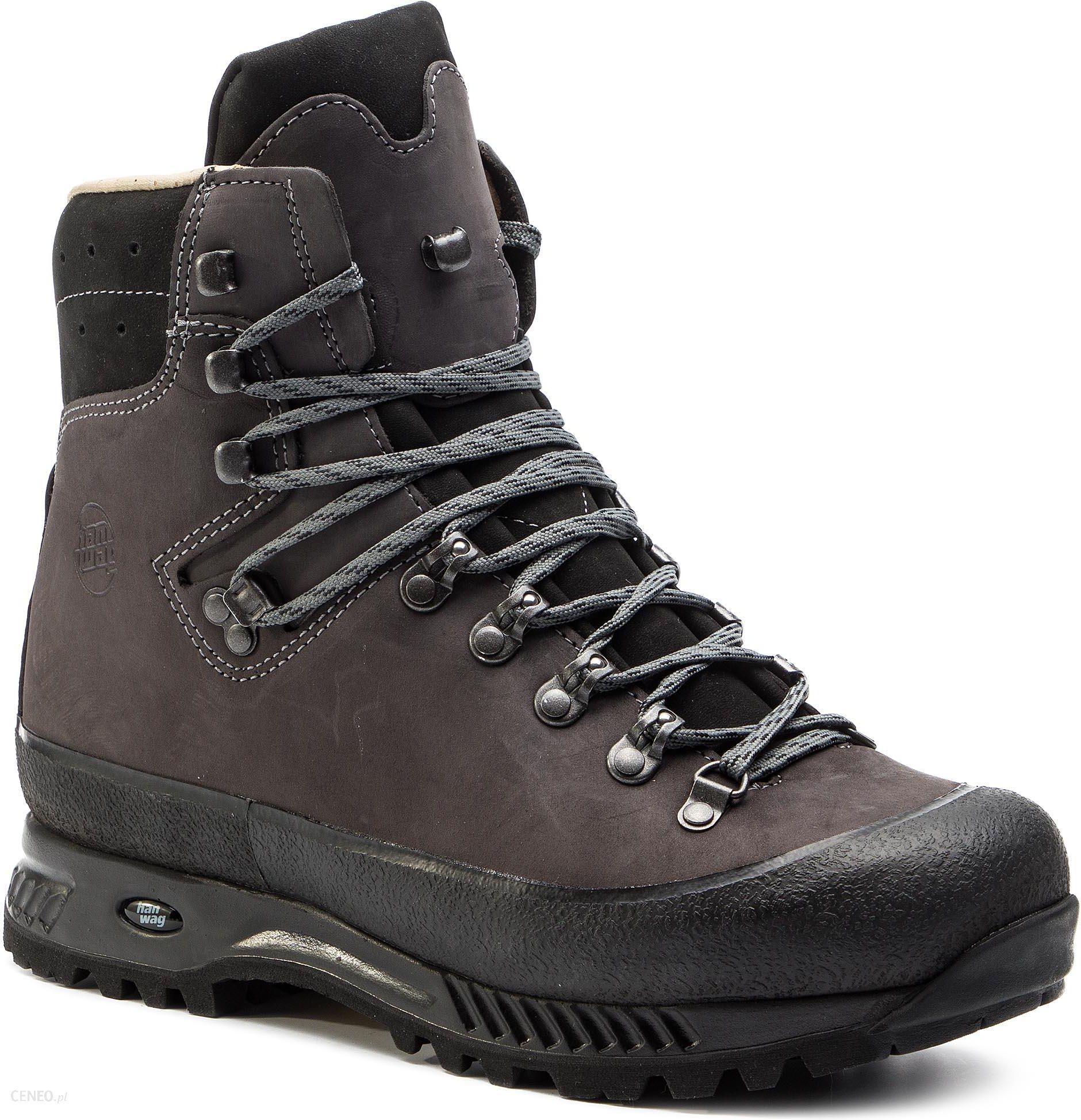 Buty trekkingowe Hanwag Yukon H2304 64 Asphalt Szary Czarny Ceny i opinie Ceneo.pl