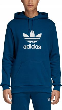 Bluza męska z kapturem Trefoil Adidas Originals (legend marine) Ceny i opinie Ceneo.pl