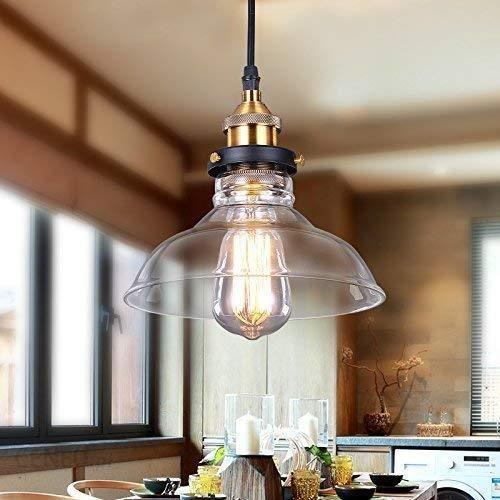 Amazon Maxmer Stylu Przemysłowym Retro Lampa Wisząca Vintage Loft Lampy Sufitowe Lampa Wisząca Led Szkło Shade Wisiorek Do Kuchni Loft Sypialni Office