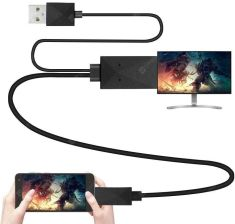 """MHL Micro USB to HDMI 1080P HD TV Cable Adapter for Android Phone -  Black"""