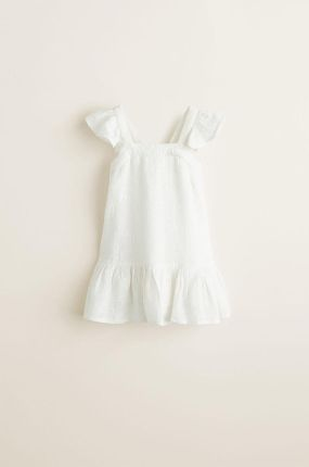 d7ed1347ca Mix  n Match sukienka dziewczęca 92 biała czarna - Ceny i opinie ...