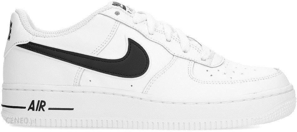NIKE AIR FORCE 1 białe czarne buty sportowe dziecięce