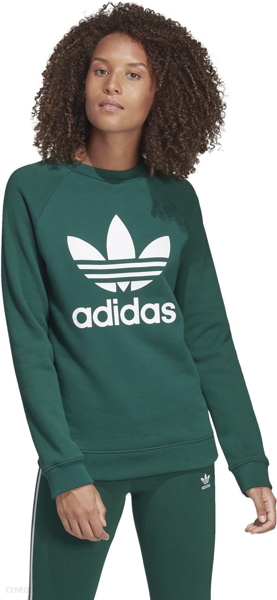 Adidas Originals Trefoil Bluza Zielony 40 Ceny i opinie Ceneo.pl