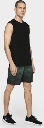 764efba39b8a30 Koszulka bez rękawów męska TSM306 - głęboka czerń 4F