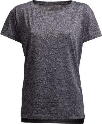f10cbe1a611df2 Koszulka treningowa damska TSDF602A - ciemny szary melanż Outhorn