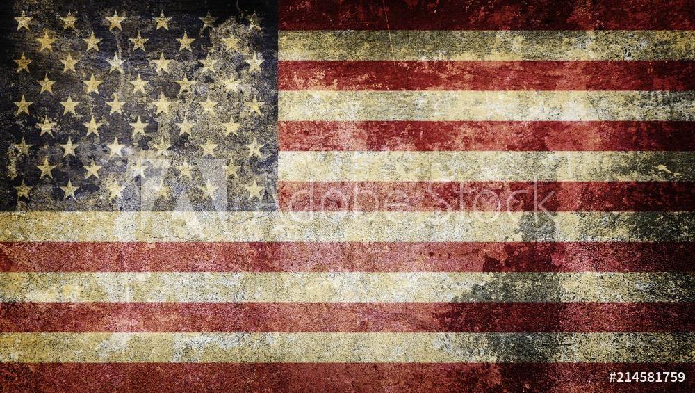 Fototapeta Stara Flaga Usa Grunge Opinie I Ceny Na Ceneo Pl