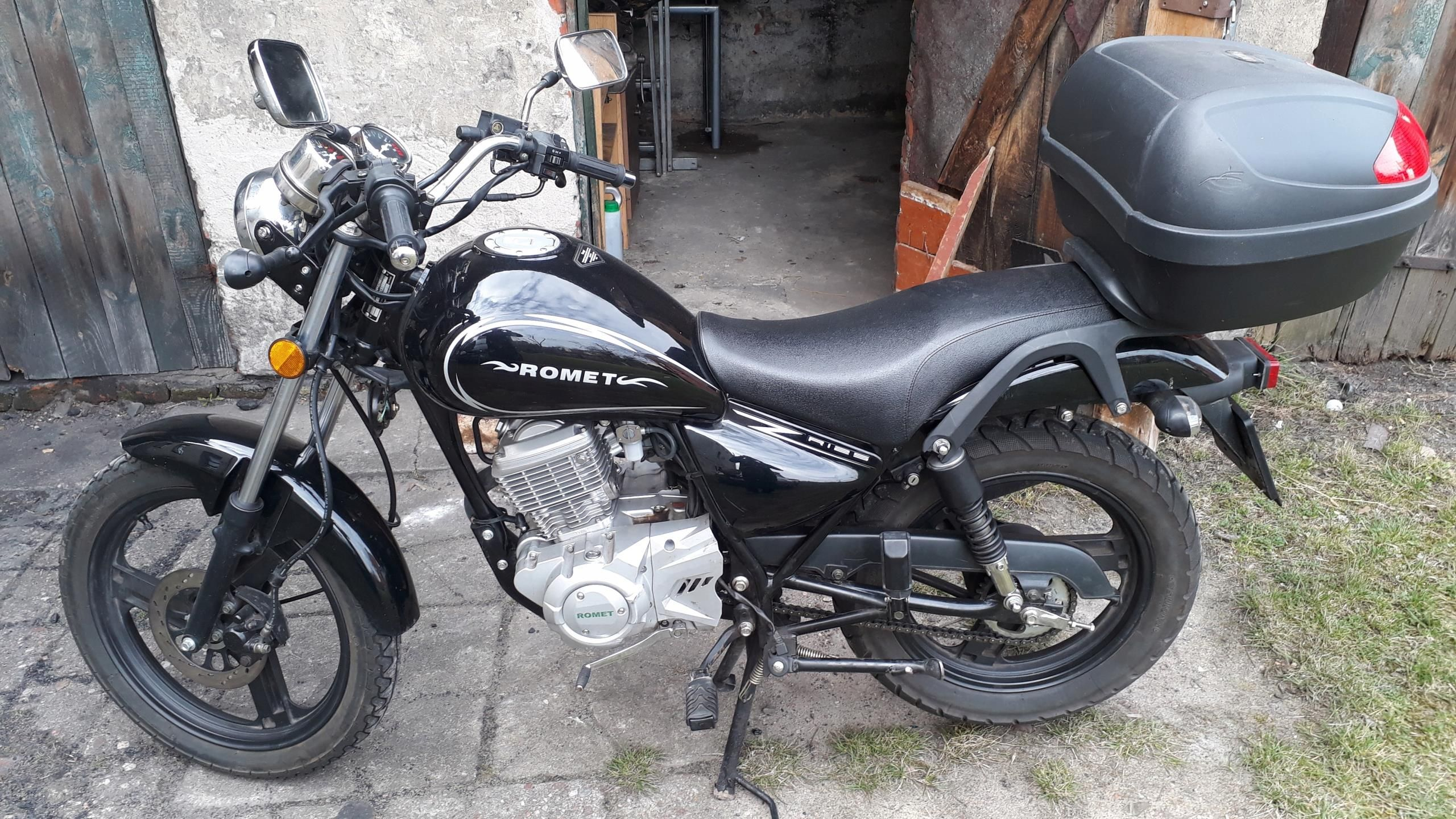 Sprzedam Motocykl Romet Soft Choper 125 Opinie I Ceny Na Ceneo Pl