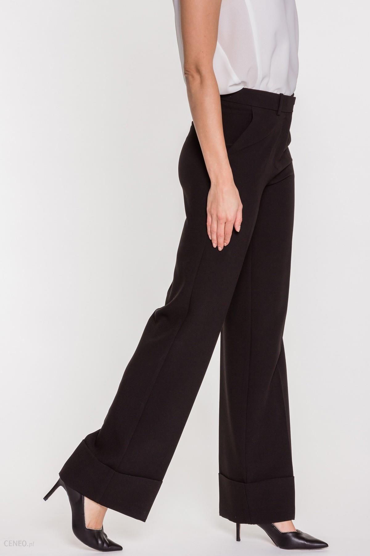 f72d333c Czarne spodnie palazzo Aude