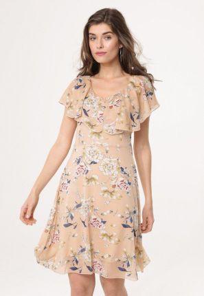 eb28c61e0c2c1f Bezowa Sukienka na Wesele - oferty 2019 - Ceneo.pl