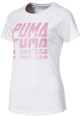 0125dd52a puma Damska Koszulka Font Graphic Tee 85435202 XS S M L Martessport