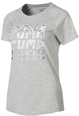 Puma Koszulka damska Dancer Drapey Tee czarno biała r. M