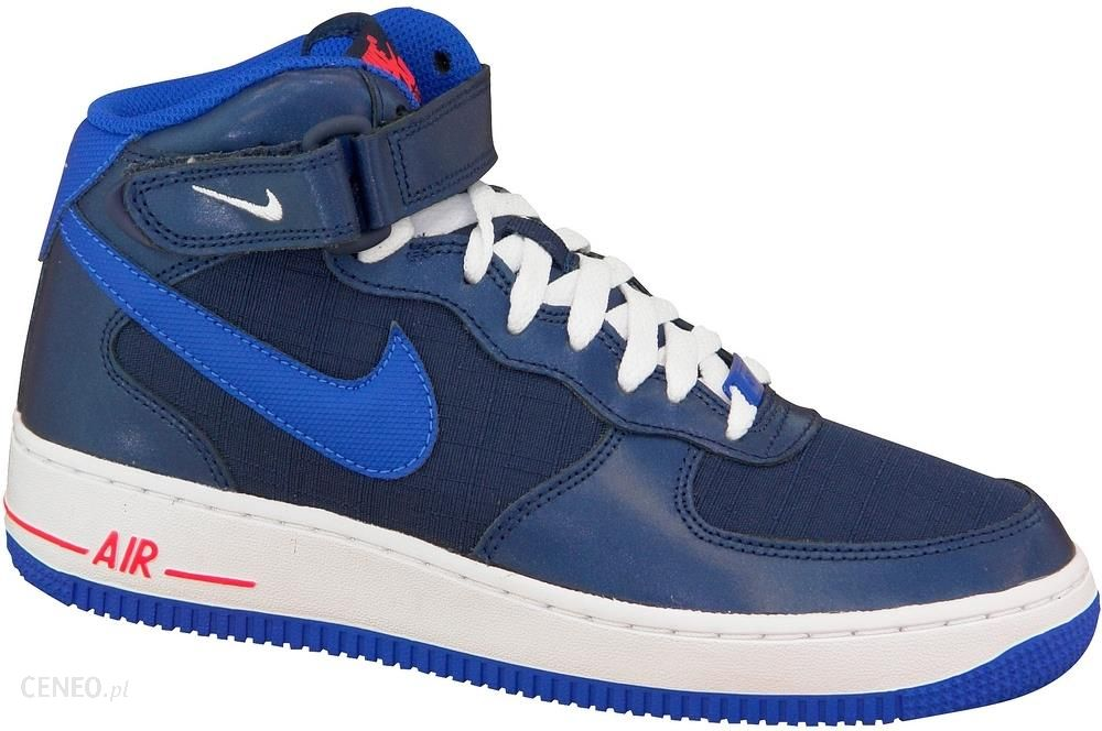 Nike Air Force 1 Mid Gs 314195 412 38,5 Granatowe
