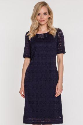 4b025fb783 Granatowe sukienki koronkowe - Moda kobieca - Ceneo.pl