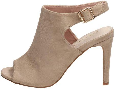 Czerwone sandały damskie, szpilki SABATINA 115 Ceny i