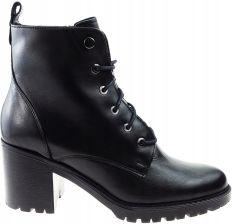 5357f1972eb37 Ryłko buty botki 5PUC2 czarny, skóra 39 Allegro