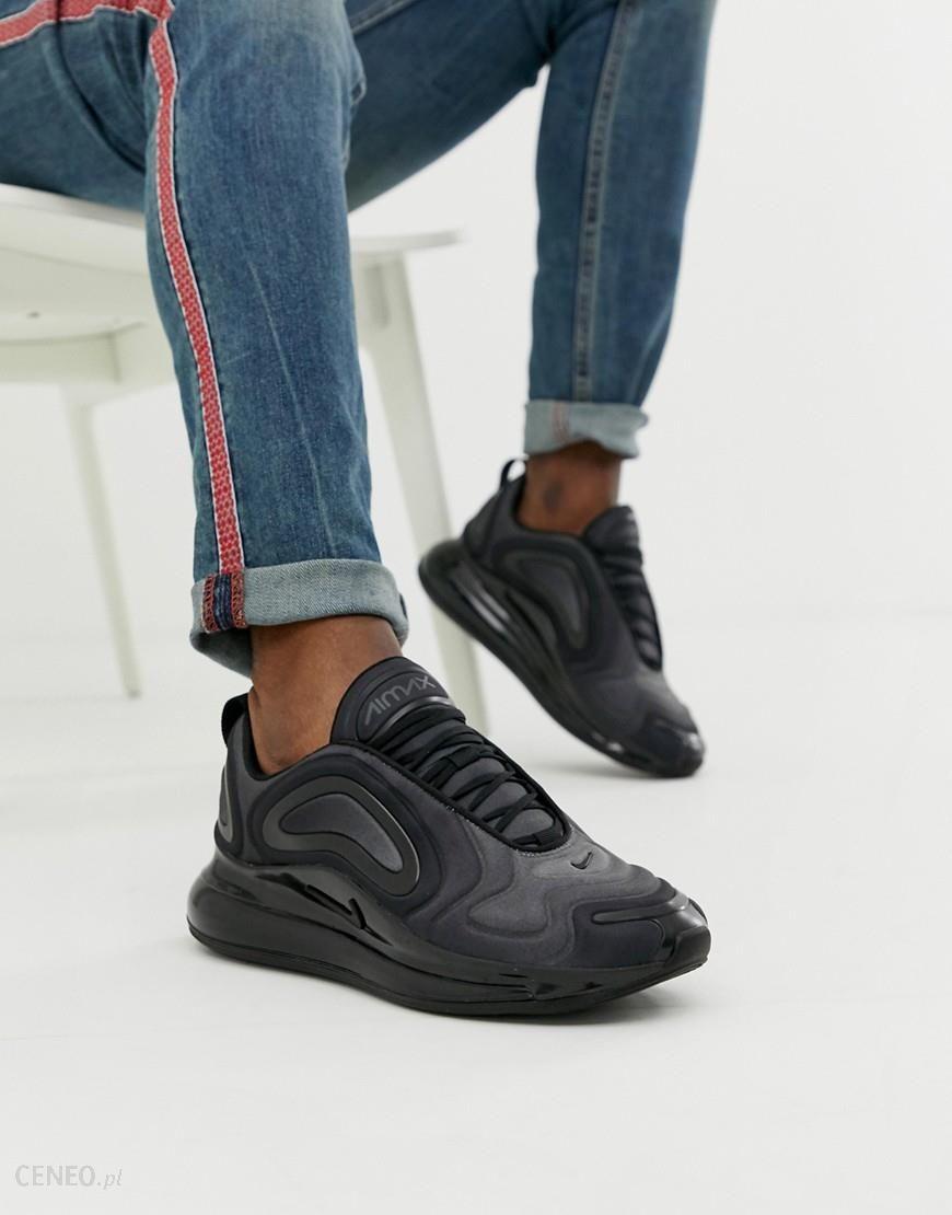 Nike Air Max 720 Trainers In Triple Black AO2924 004 Black
