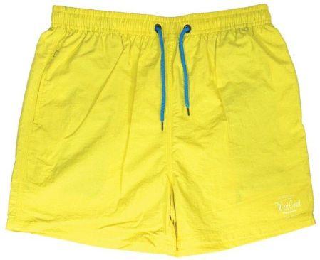 c017c9c2a508a3 Męskie Żółte Spodenki Kąpielówki, Plażowe, Rekreacyjne, Sportowe, Jaskrawe,  Pako Jeans SPPJNSPLAZOWESTILLzt