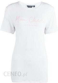 fb0020a81e69 Guess **Tall White 'Mon Cheri' Slogan T-Shirt - zdjęcie 1