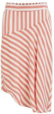 Guess Vila Coral and White Candy Skirt