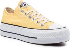 b24850bfdbb17 Trampki CONVERSE - Ctas Lift Ox 564385C Butter Yellow/Black/White eobuwie