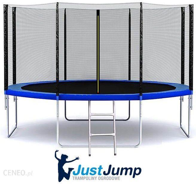 Just Jump Trampolina 374cm 3 74m 12ft Siatka Drabinka Ceny I Opinie Ceneo Pl