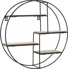 Castorama Form Regał 5 Półek Metalowy Ocynk Mdf 180 X 120 X