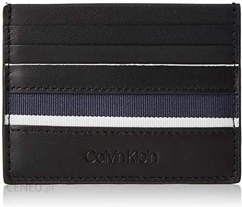 Amazon Calvin Klein Męska Stripe Cardholder Etui Na Karty Kredytowe 7 8 X 1 2 11 Cm