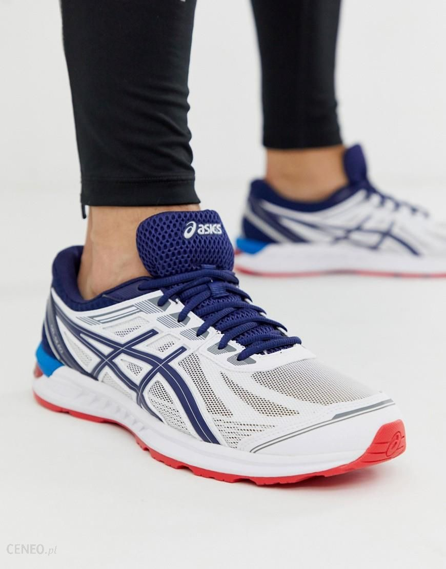 Asics Running Gel Sileo Trainers in white White Ceneo.pl
