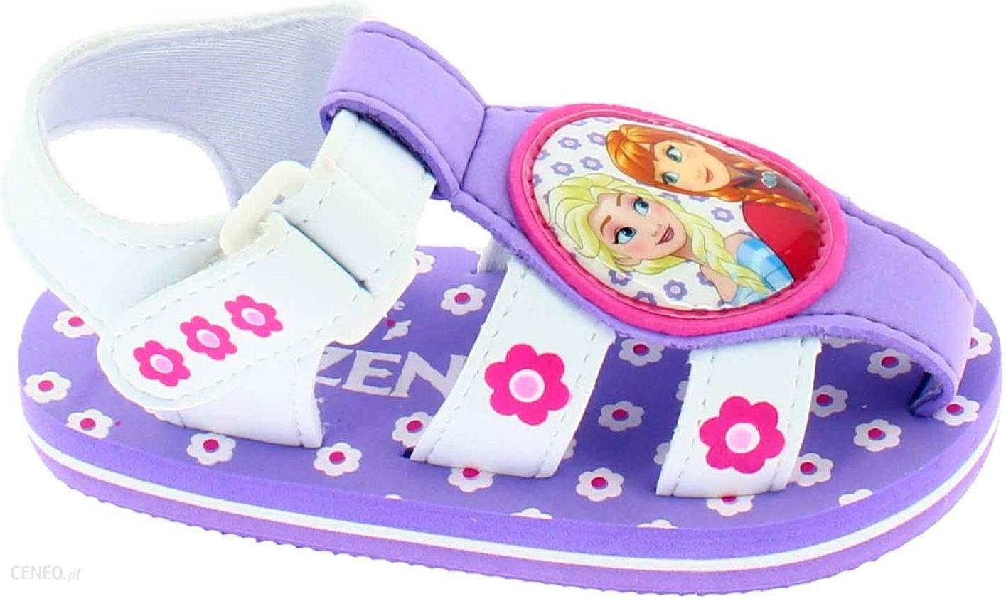 Disney by Arnetta sandały dziewczęce Frozen 27 fioletowy Ceny i opinie Ceneo.pl