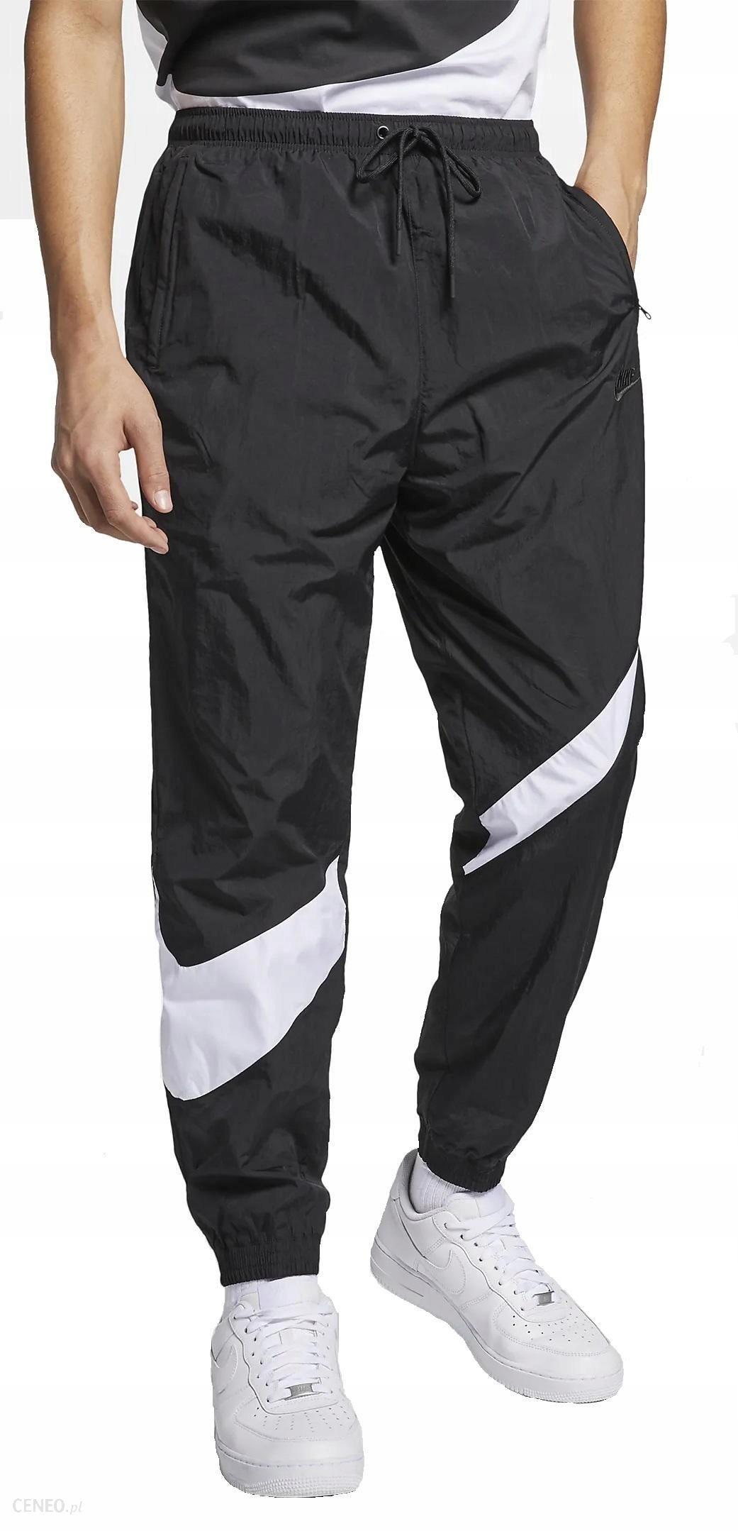 L Spodnie Męskie Nike Sportswear AR9894 010 Czarne Ceny i opinie Ceneo.pl