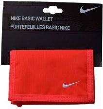 61bc2ef29765c Nike Portfel Sportowy Zapinany Na Rzep Czerwony Allegro