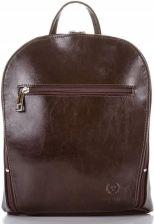 a2eb5bf023a60 Klasyczny stylowy skórzany plecak damski paolo peruzzi brązowy
