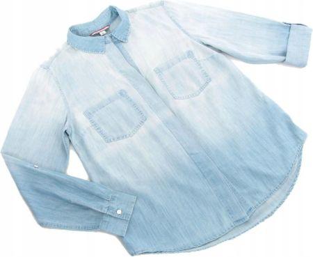 f1561a9740626 Koszula damska z długim rękawem Tommy Hilfiger L Allegro