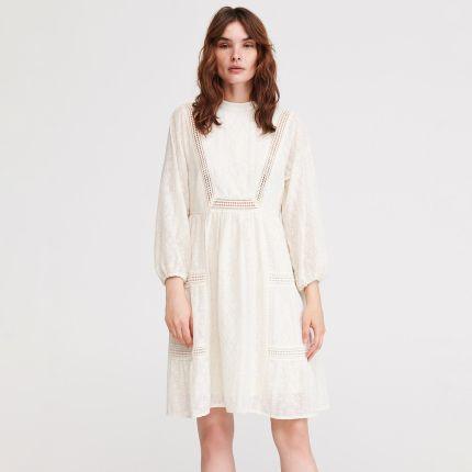 e81d3dc55d Reserved - Sukienka w stylu boho - Kremowy ...
