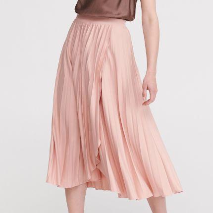 ca27e7ac1f Różowe Spódnice - Materiał  Poliester - Ceneo.pl