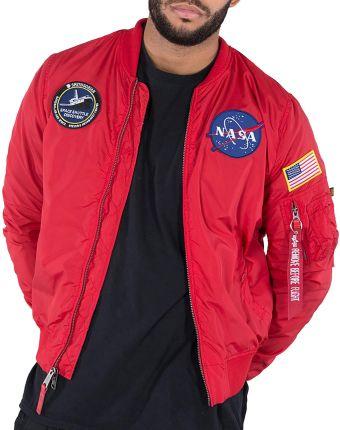 56883644649a5 ALPHA INDUSTRIES MA-1 TT NASA REVERSIBLE II > 186101-328. Kurtka męska ...