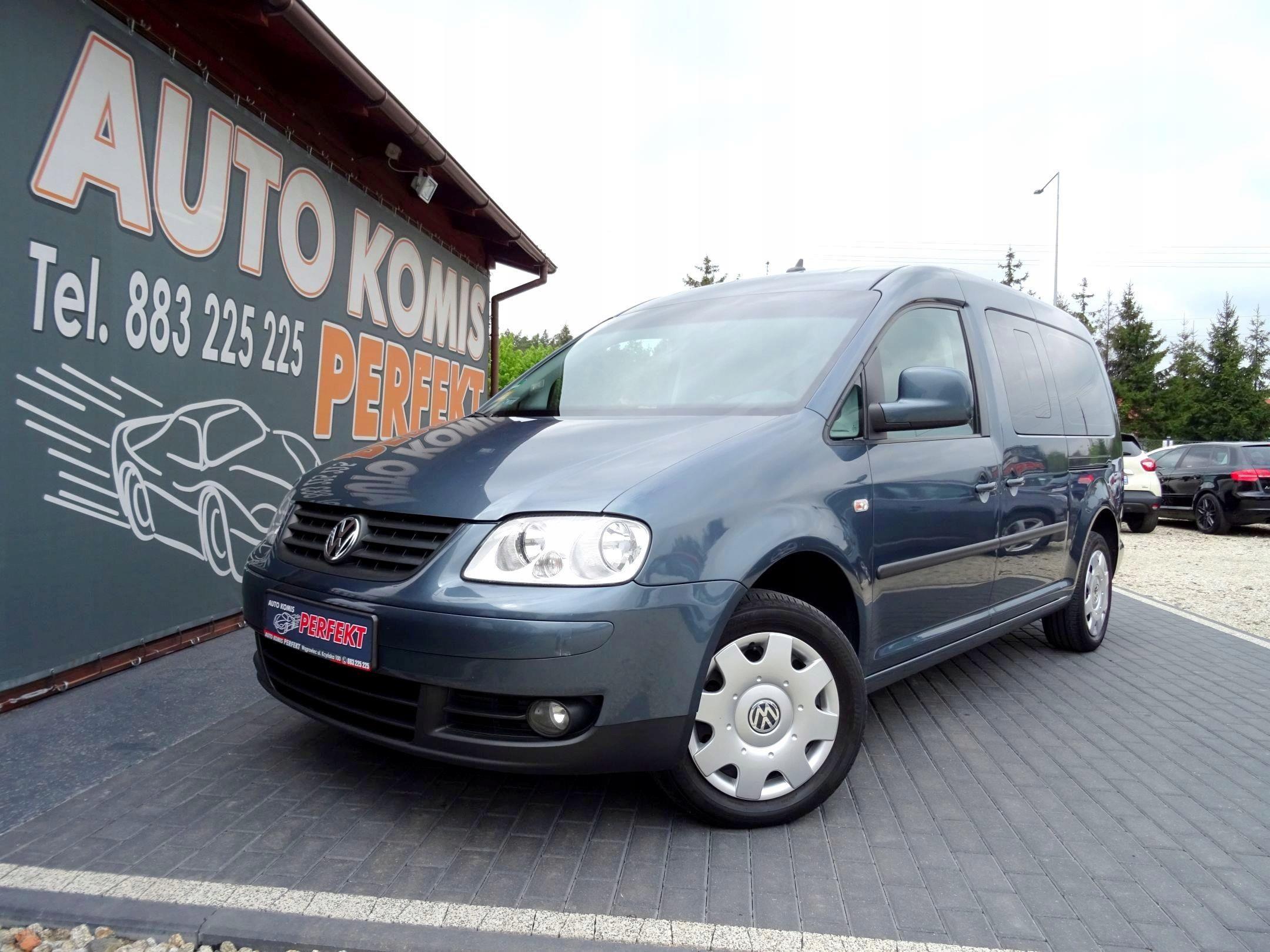 Volkswagen Caddy Life Maxi Klimatik Grzane Fotele